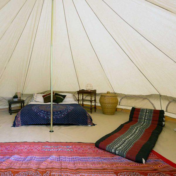 Psyclone Tent - Inside Extra Windows